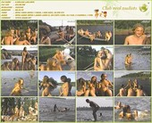 Karelian lake - Russian nudists
