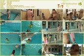 Pool Jacuzzi and Paints - naturists movie HD