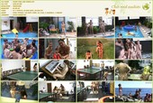 Piano Pool and Tennis - naturists movie HD