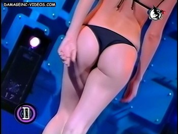 Silvina Aguirre yummy ass in thong