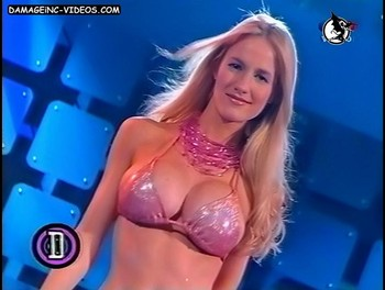 Luciana Salazar big boobs blonde