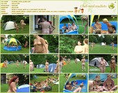 Playing With a Ball - naturists movie
