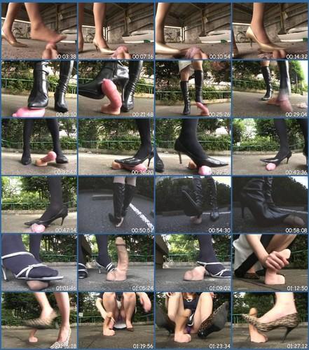 BYD-60 Leg Fetish Asian Femdom Fetish