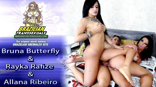 [Brazilian-Transsexuals.com / Grooby.com] Bruna Butterfly (AKA: Bruna Ninfa), Rayka Rafize, Allana Ribeiro (AKA: Alana Ribeiro) - Bruna Butterfly & Rayka Rafize & Allana Ribeiro (Grooby Productions) [February 17, 2015 / Anal Sex, ATM/Ass To Mouth, Latina, Condoms, TS/Trannies/Shemales, Threesomes/Threeways, Gonzo, Hardcore, Tanlines, Brazilian / HD Video / 720p] z37m3ckcwzpg