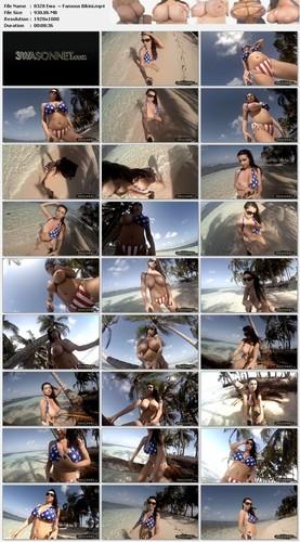 Ewa Sonnet ~ Famous Bikini ~ 3WaSonnet