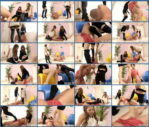 TPLS-004 Femdom Torture Tag Match Kick Legs W Asian Femdom