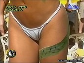 Maria Rito little white thong