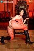 Karina Hart - big boobs in red net dress  u43bcro0ho.jpg